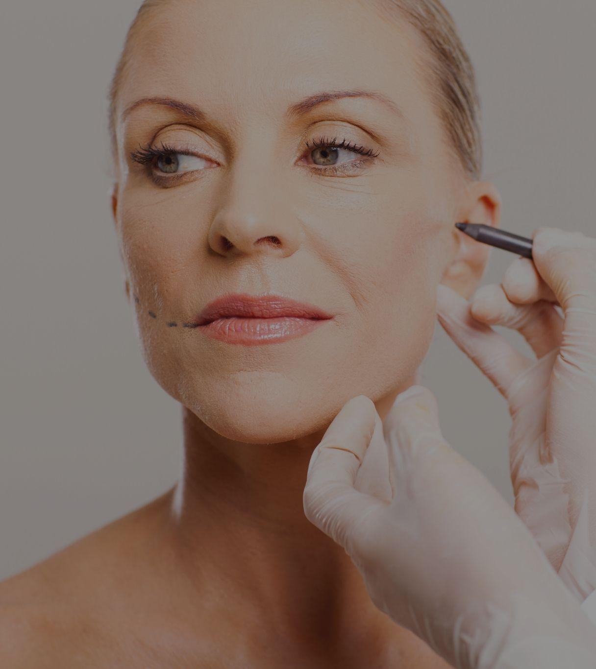 medicina estética facial mujer